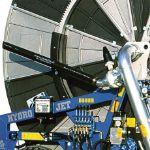Casella LLS 120/500 Hard Hose Reel Irrigator Discharge