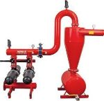 Armas hydrocyclone sand separator with double disc filter set