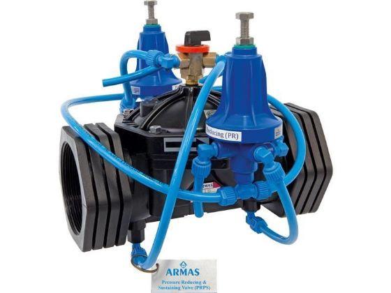 Armas Pressure reducing and sustaining control valve
