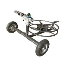 "DuCaR Atom 40 with 2"" Wheeled Cart and Integrated Hose Reel"