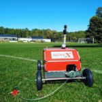 DuCaR IrriCruiser MINI at a sports field 3
