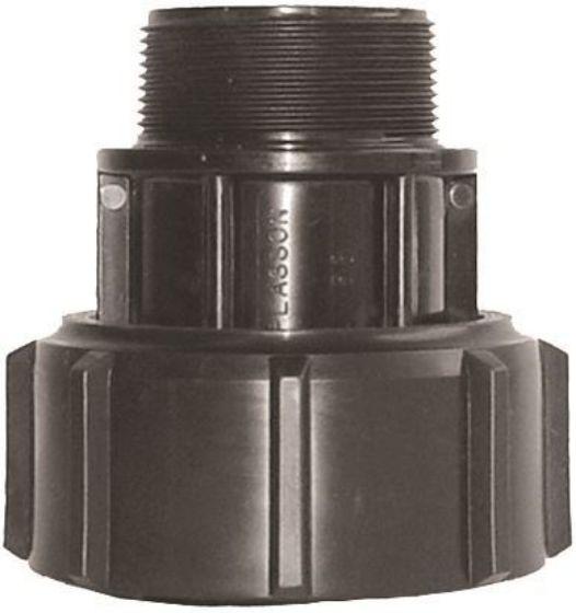 Plasson 7250 Rural Barrel Union Adaptor With Male Thread