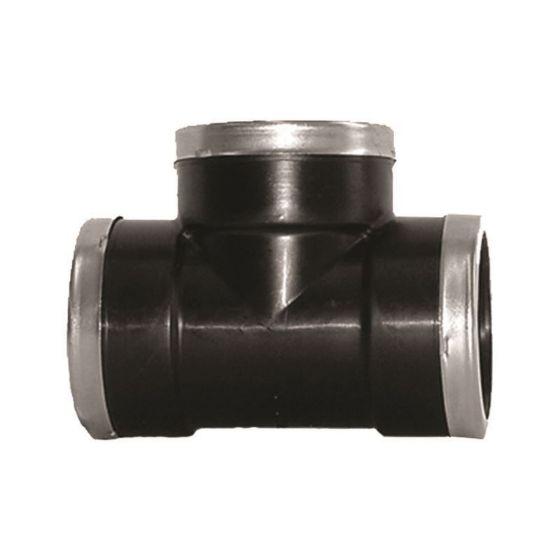 Plasson 5041 Threaded Tee (Stainless Steel Reinforced)