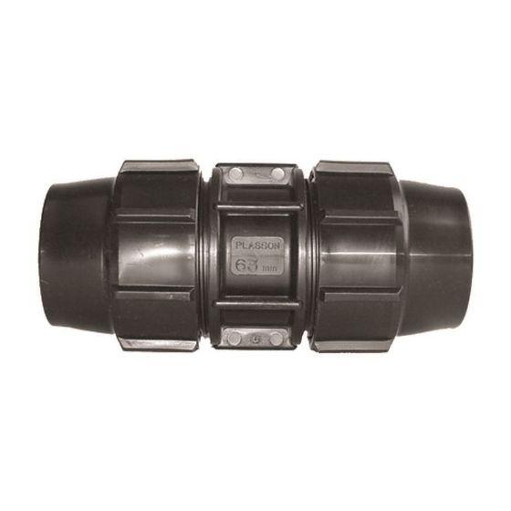 Plasson 7015 Metric Mine - Coupling