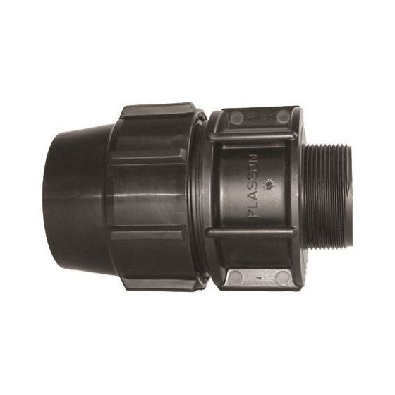 Plasson 7025 Metric Mine - Male Adaptor