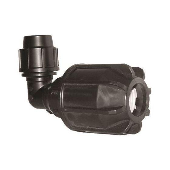 Plasson 7057 Metric Universal Elbow