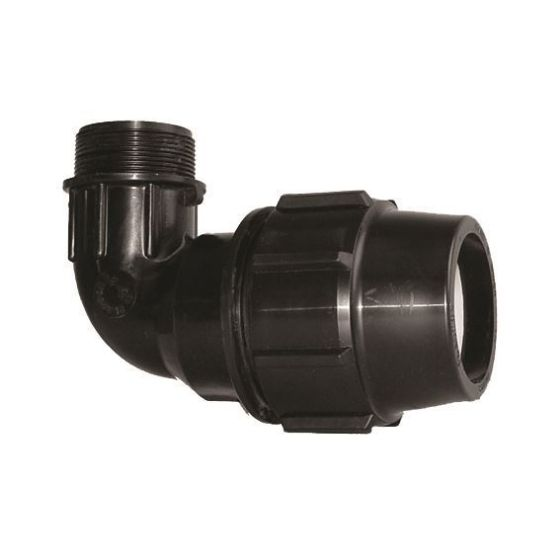 Plasson 7855 90° Metric Mine - Male Elbow