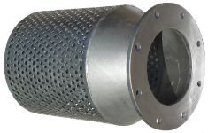 Galvanised-steel-flanged-strainer
