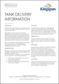 Tank-delivery-information